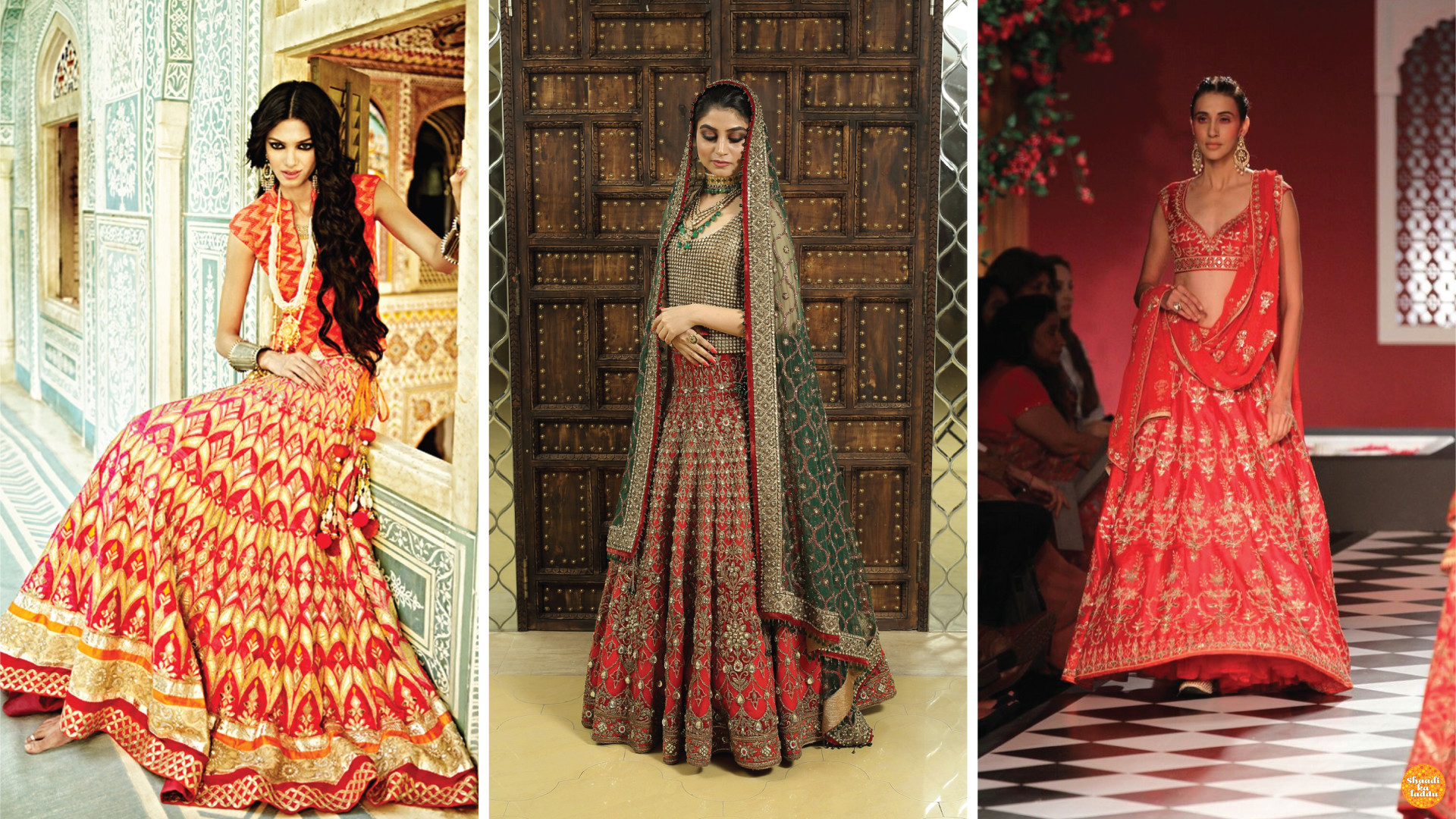 Designer wedding lehengas in budget