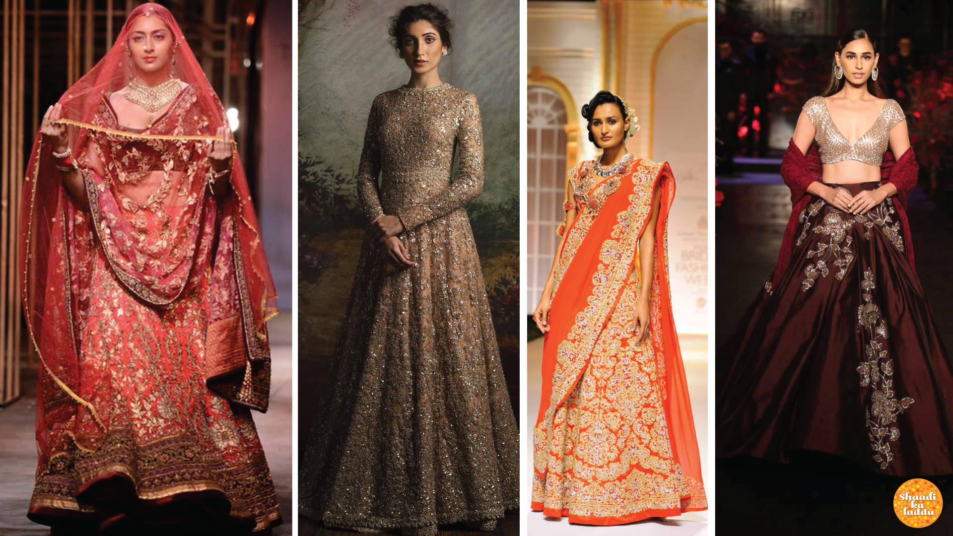 Indian bridal collection from different designers