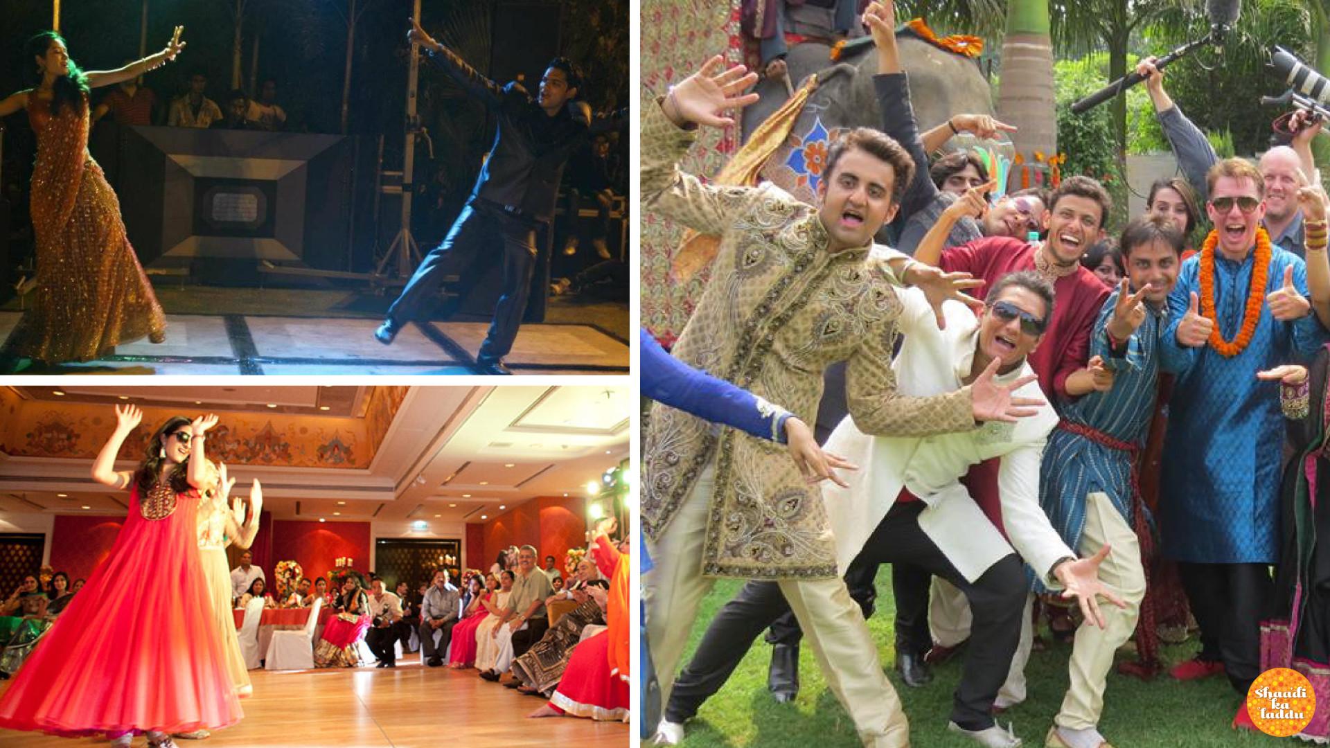 Delhi Dance Academy wedding choregraphy, sangeet ceremony dance preparation