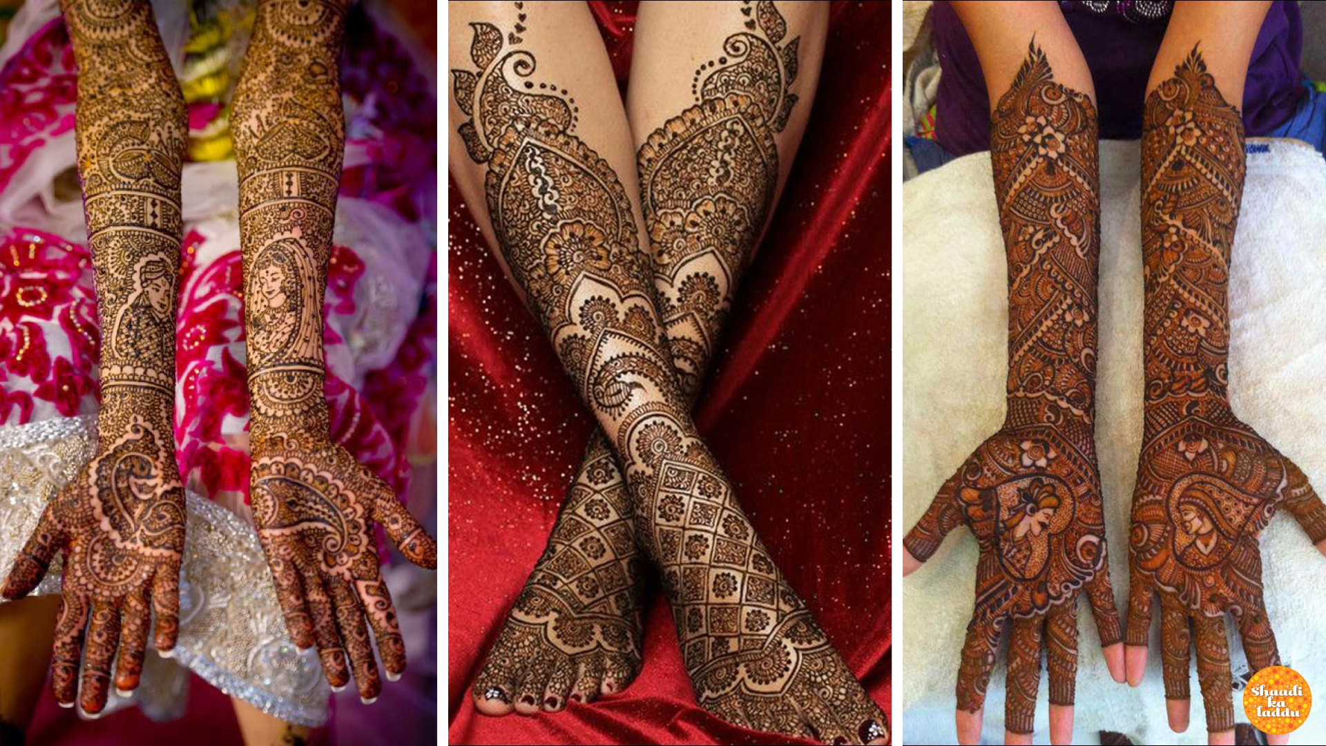 Neat and Detailed Mughlai Mehendi designs