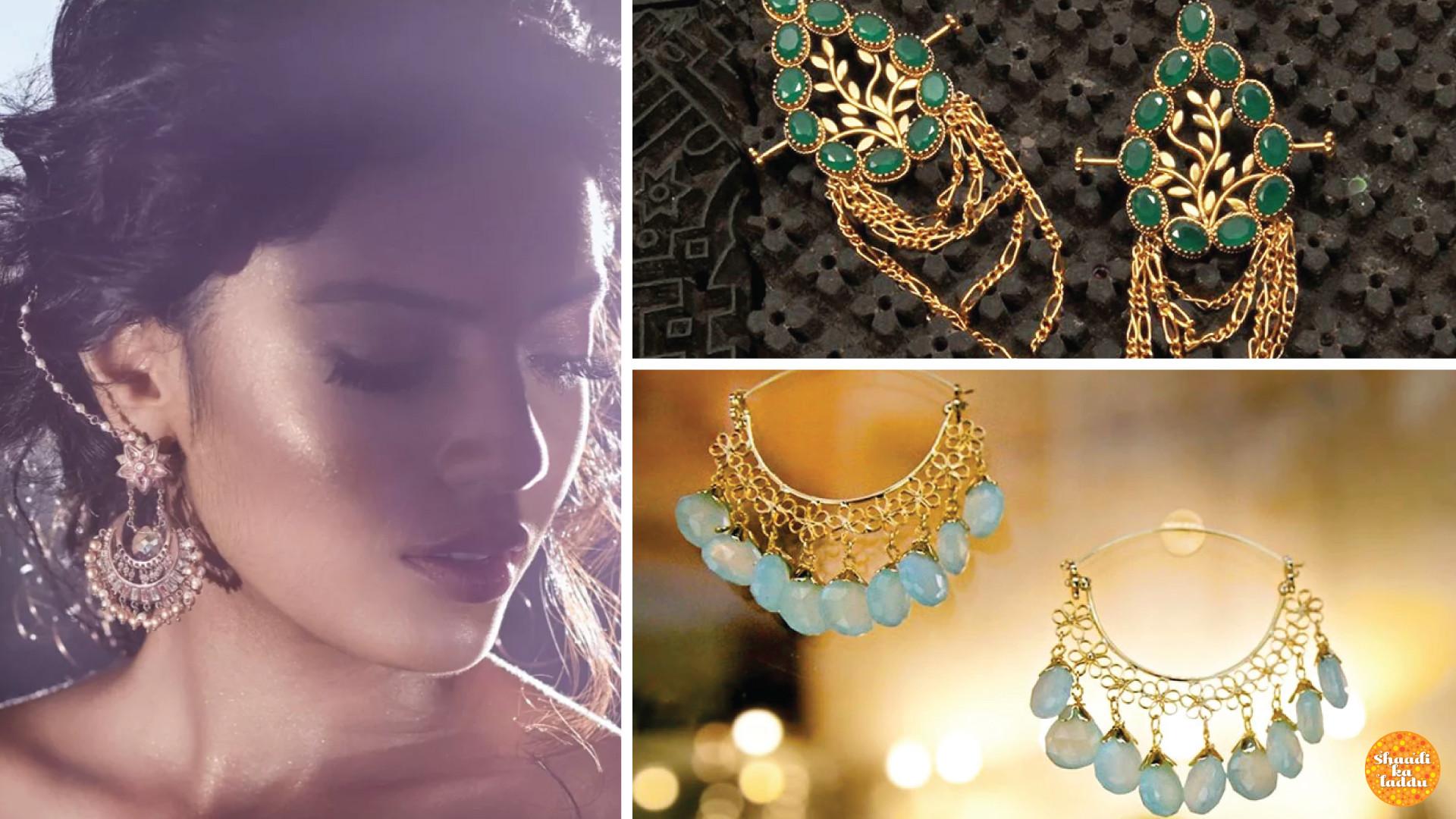 Trendy Dangler(earrings) options for the bridal ceremonies