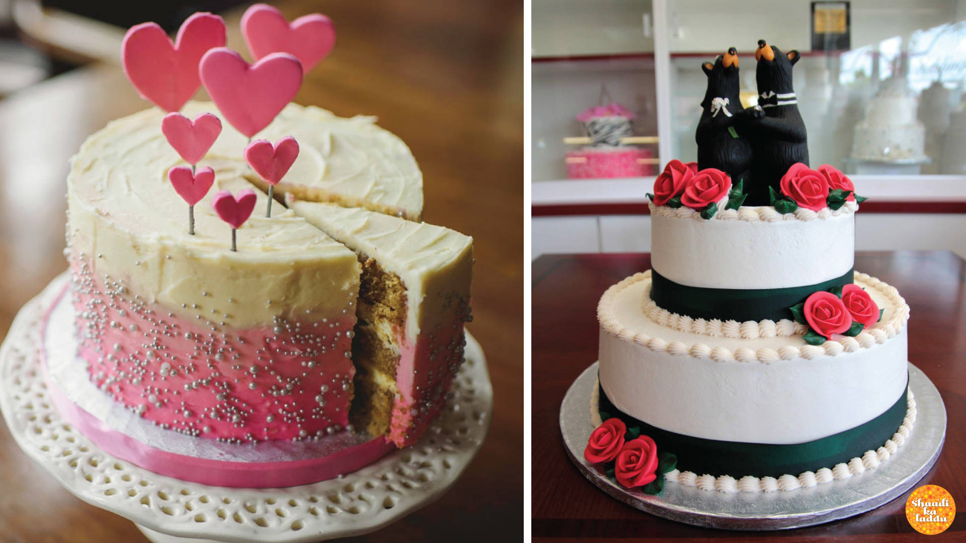 Wedding cakes from All Things Yummy, Delhi