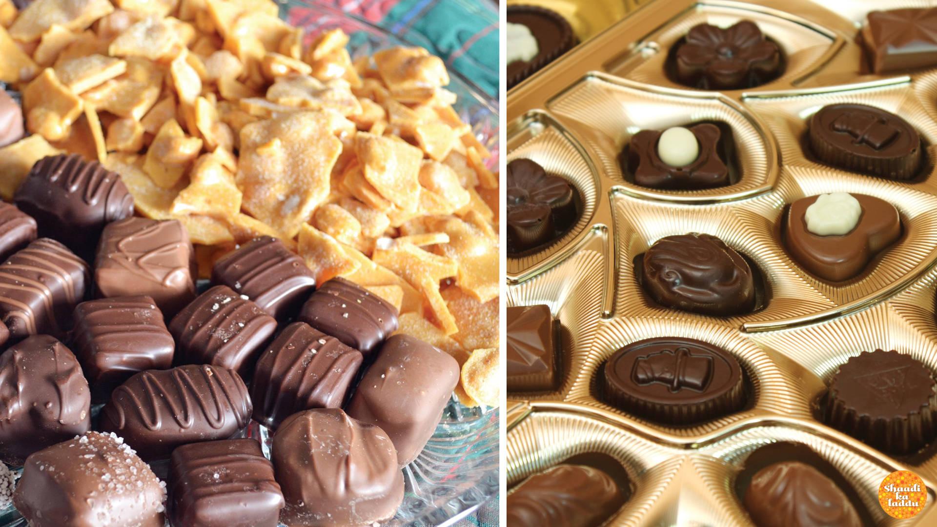 Chocolates from Smitten Bakery