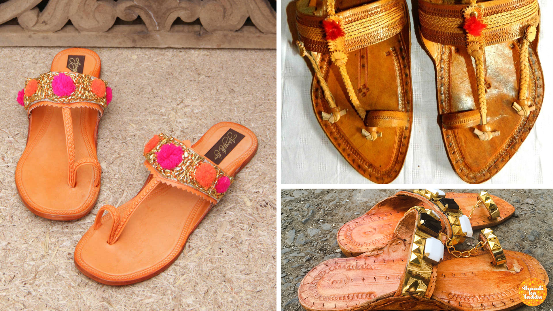 Comfortable, stylish Kolhapuri chappals