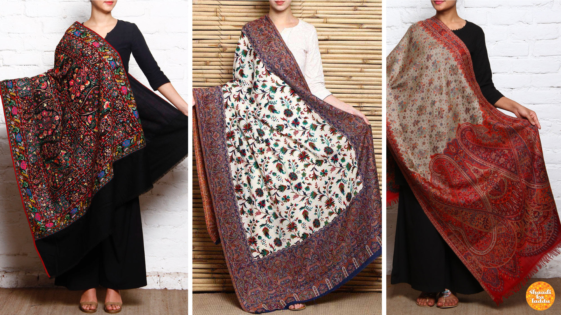 Cozy, Classy and Comfy Pashmina shawls