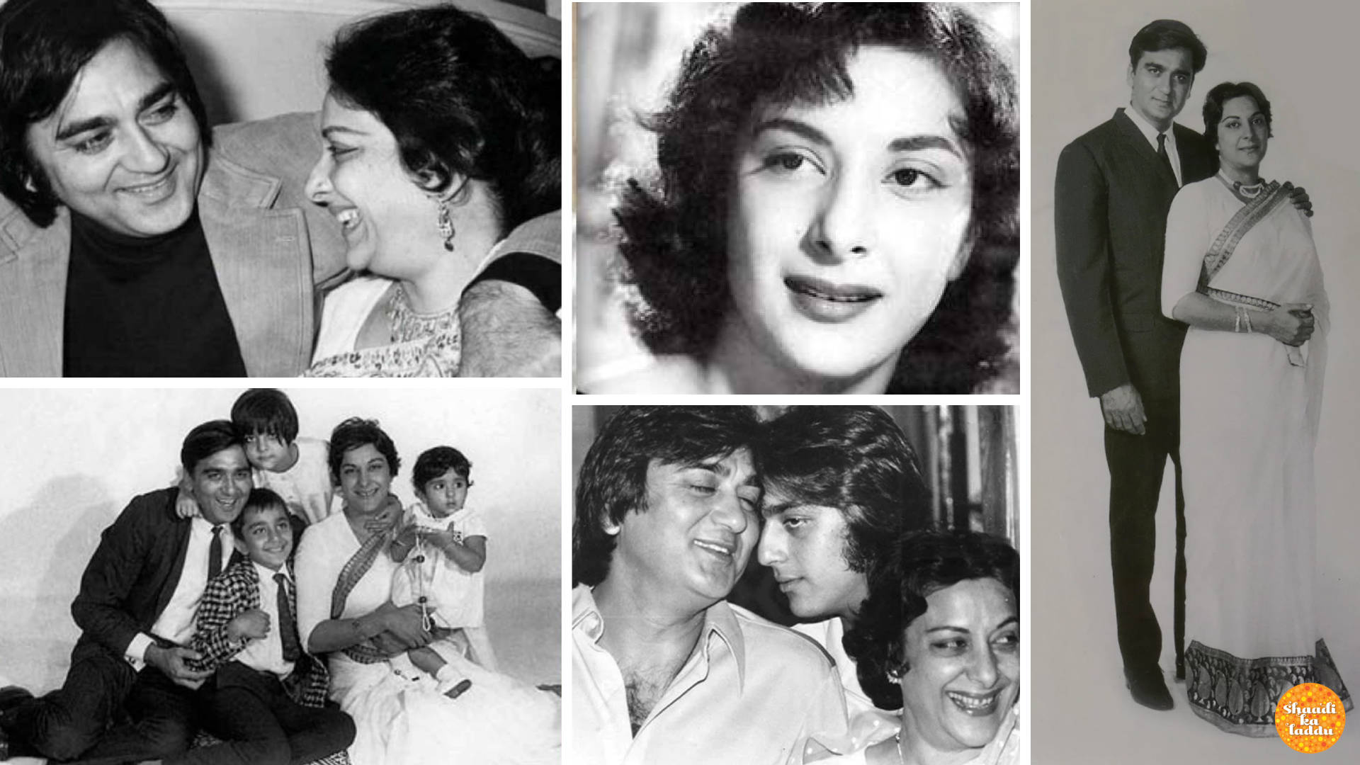 Wedding pictures of Nargis and Sunil Dutt