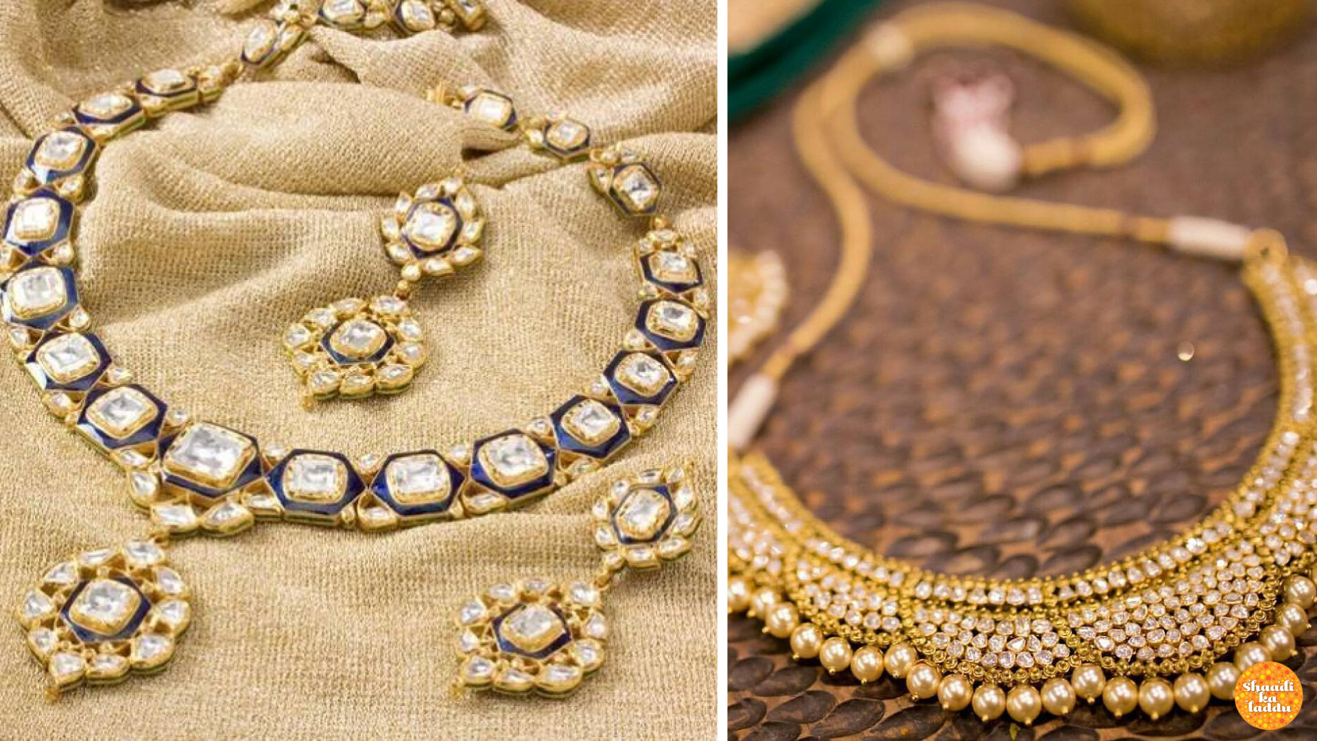 Precious stone studded meenakari work in different designer chokers