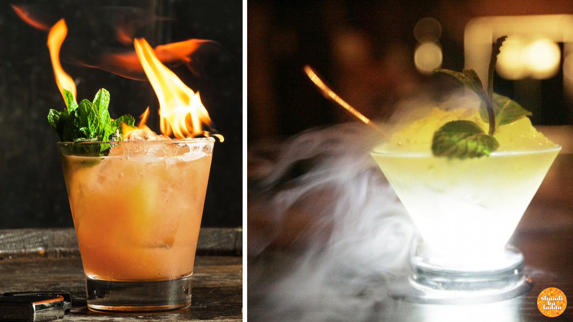 A little liquid nitrogen or a flame or two in your signature cocktails can jazz up an otherwise dull gathering