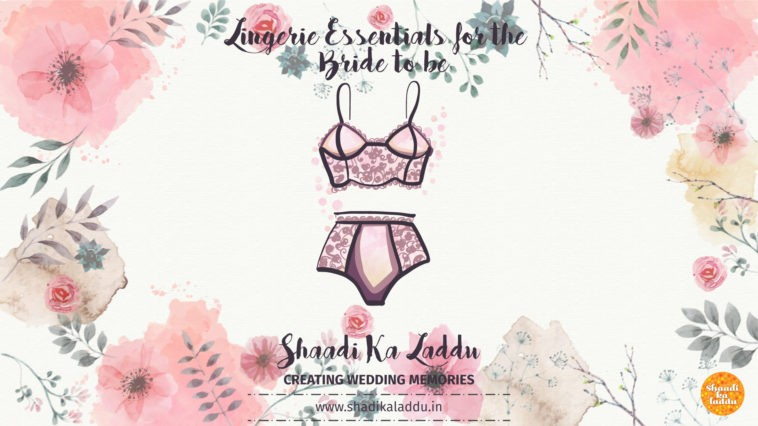 Lingerie Essentials for the Bride to Be