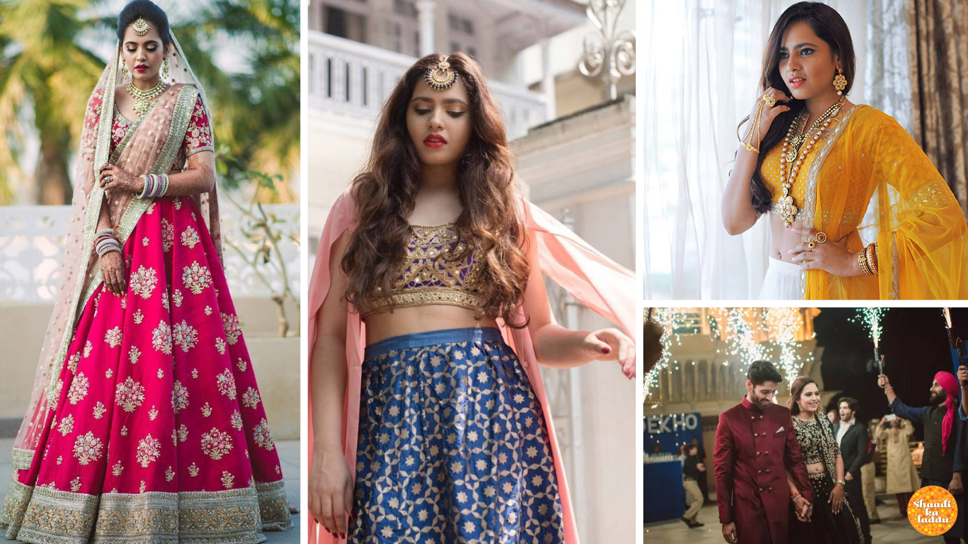 Colour Me Silly – Bridal Outfits