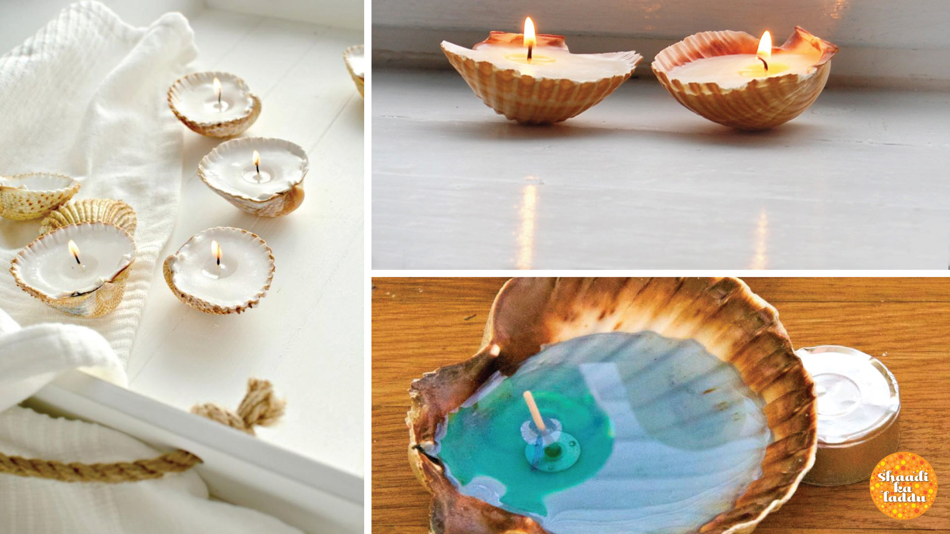 Sea Shell Candles