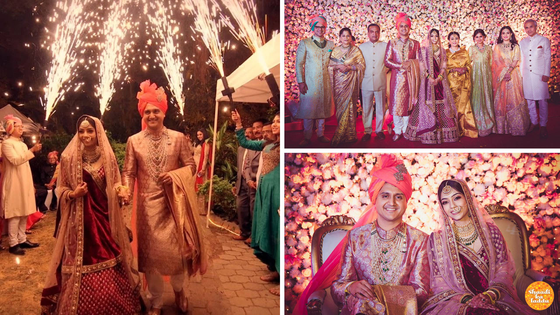 A Majestic Wedding: Krutika Kartikeya Ghorpade and Akshay Bhansali