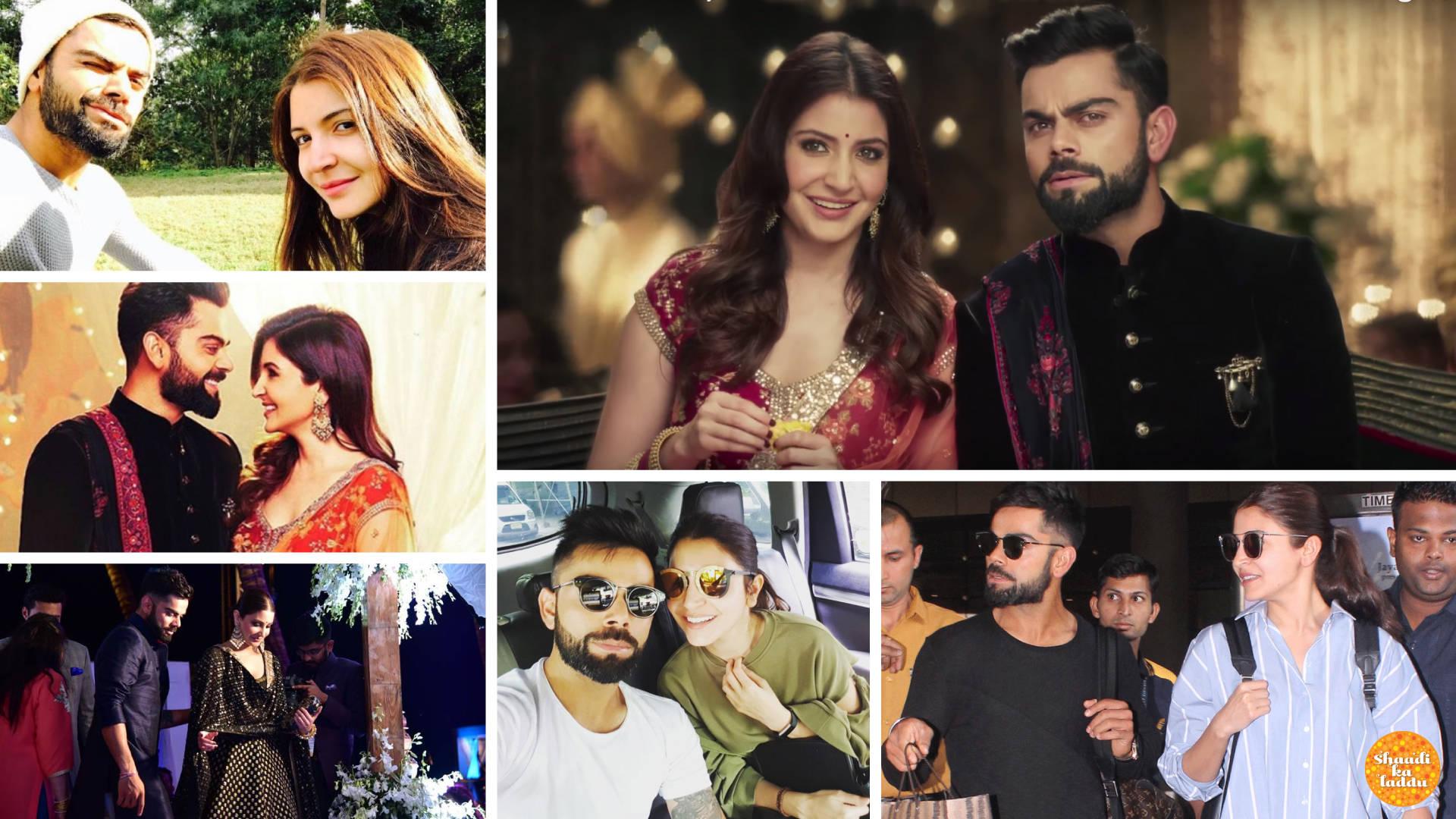 Couple Goals – Virat Kohli And Anushka Sharma