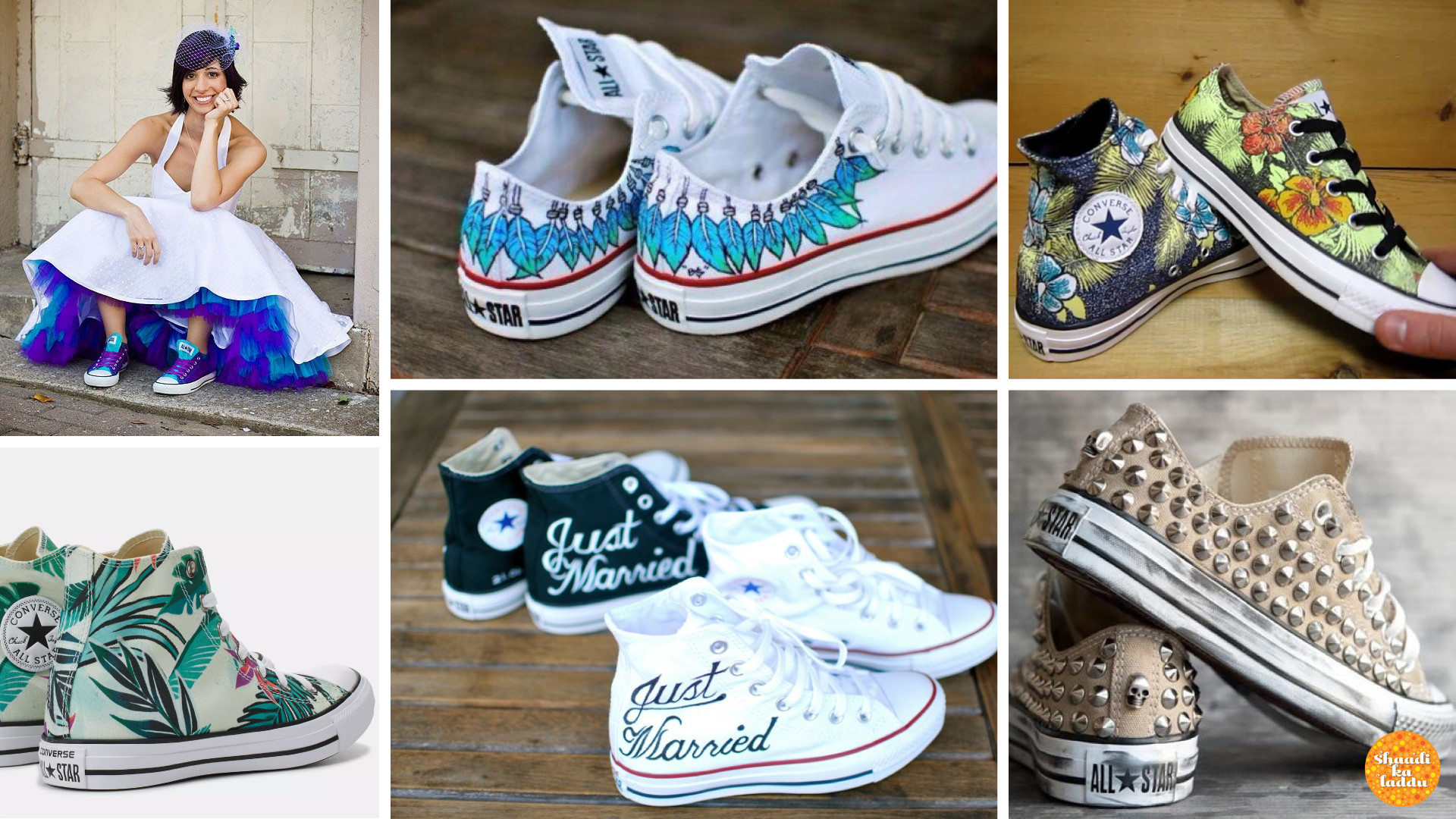Floral, Lace and Colour – Converse Has It All
