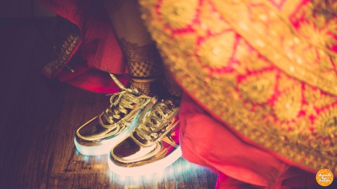 Sneaker Brides Unite! | Shaadi Ka Laddu Blog