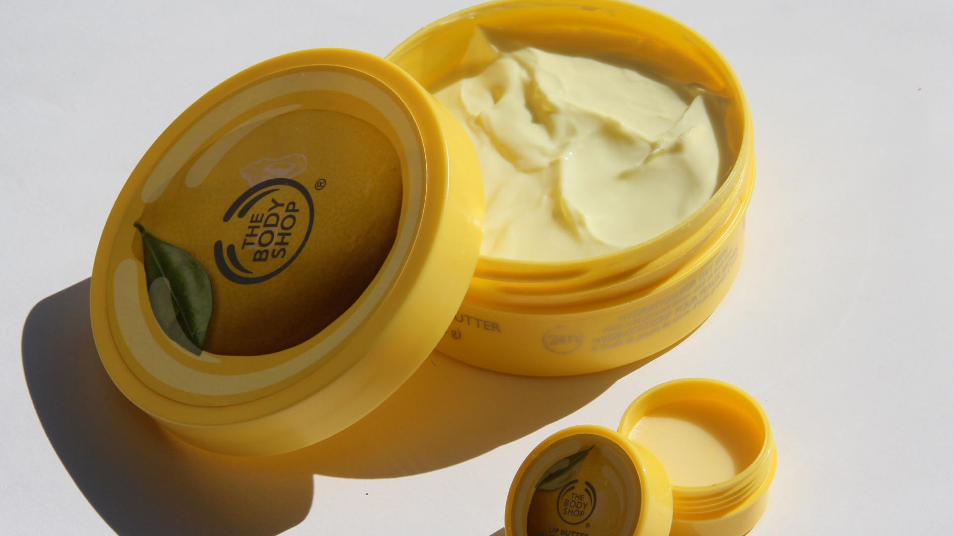The Body Shop Sweet Lemon Lip Butter
