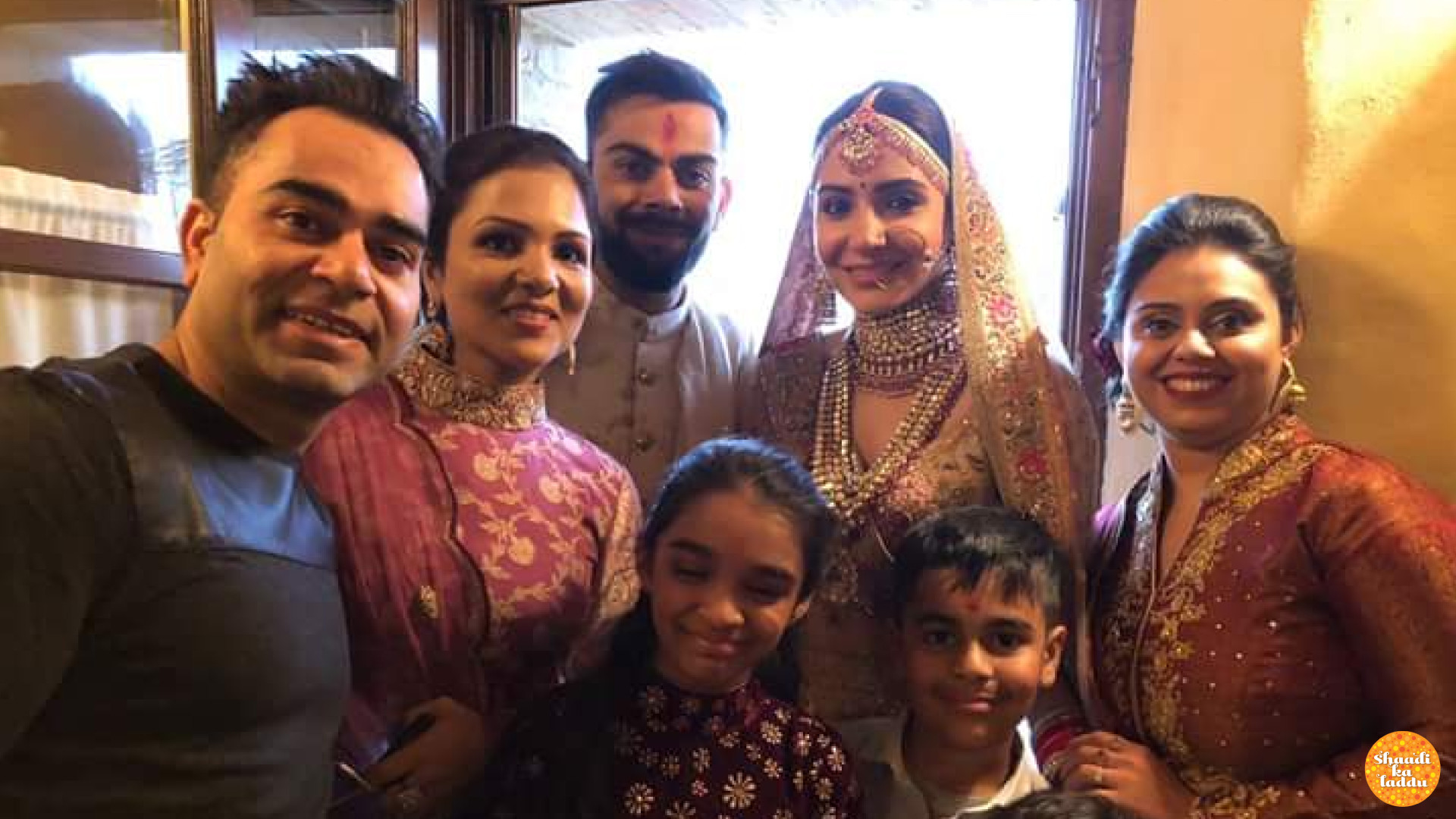 Virushkas smiles say it all as they exchange vows for a life-time