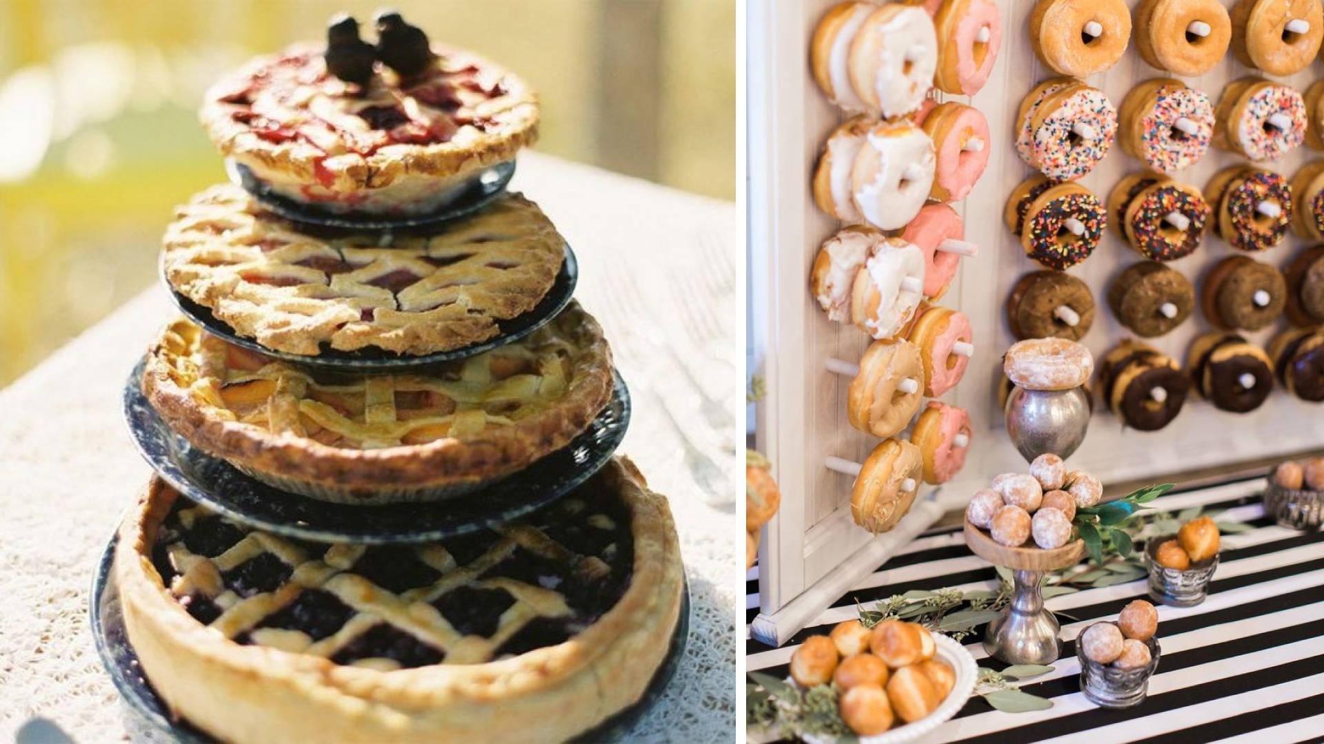 A Pie and Doughnut Station