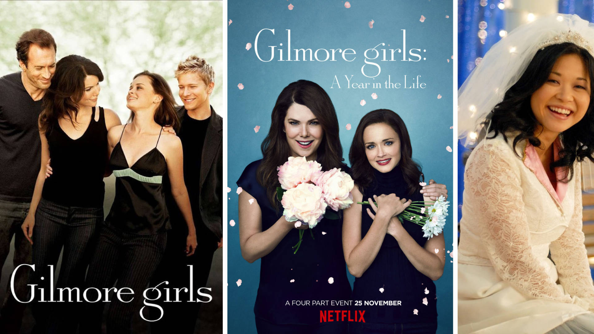 Gilmore Girls + Gilmore Girls – A Year In The Life