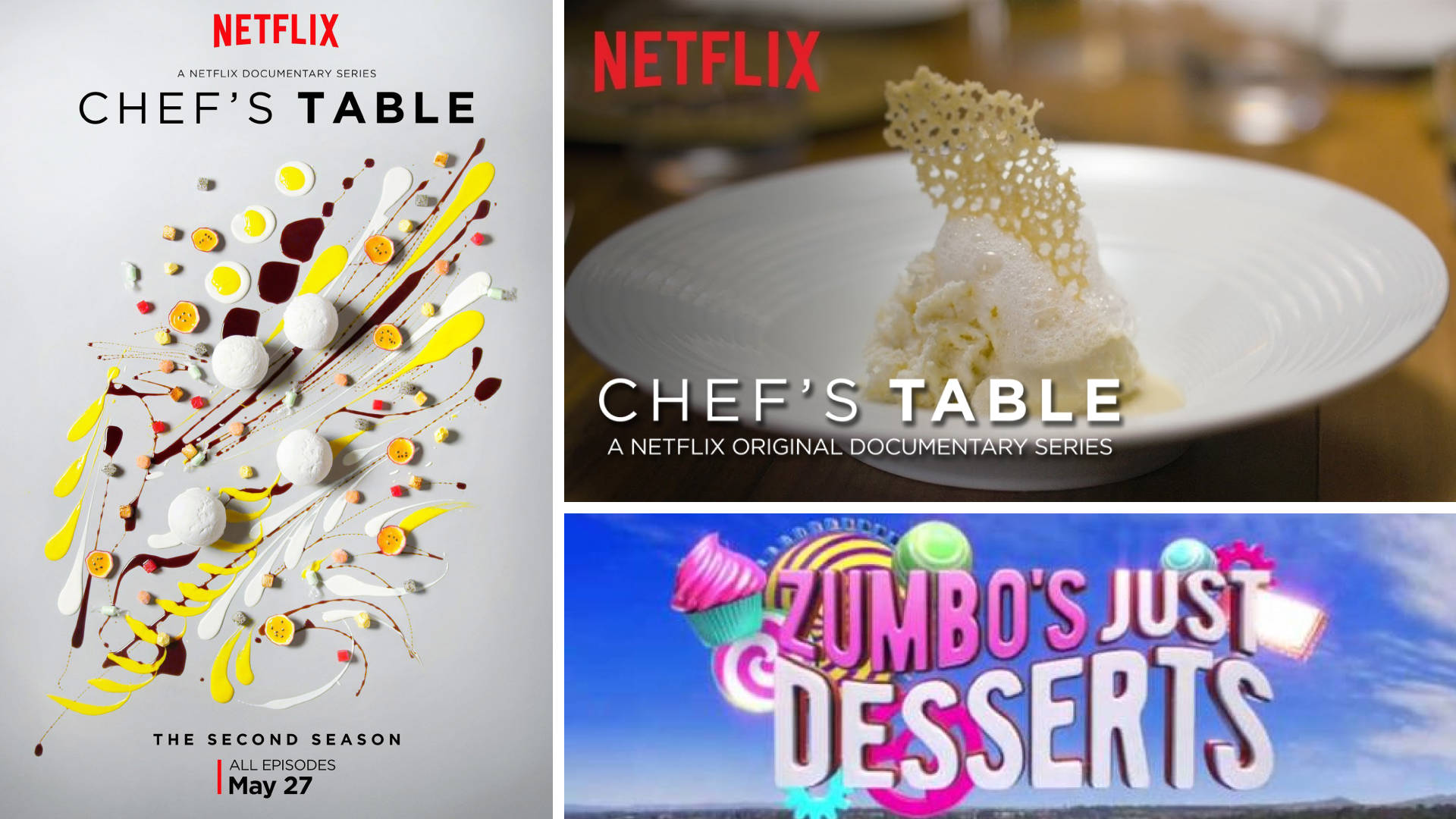 Chef's Table and Zumbo's Just Desserts